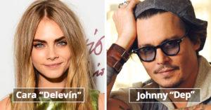 12 nombres de famosos que has PRONUNCIADO MAL toda la vida
