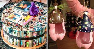 27 cosas que puedes reciclar y darles un doble uso en tu hogar