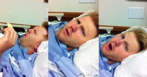 Se despertó de la anestesia y no conocía a su esposa; lo que le dijo te hará creer en el amor verdadero