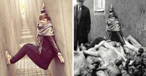 Artista da lección a los irrespetuosos en su proyecto 'Yolocaust'
