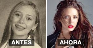 15 celebridades que pasaron de 0 al 10 durante su adolescencia… ¡y a nosotros nos encanta!