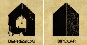 15 desórdenes mentales explicados a la perfección con arquitectura