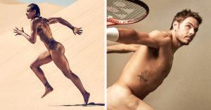 ¿Cómo se ven los deportistas de alto rendimiento sin ropa?