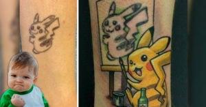 11 Horribles tatuajes con los mejores cover ups de la historia