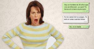 Mamá enojada manda mensajes accidentalmente a hombre de 35 años y ¡el resultado es épico!