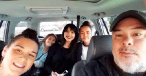 Alguien se metió a la selfie familiar y de pronto… ¡comenzaron los gritos desesperados!