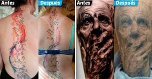 15 Fotografías que nos muestran cómo lucen los tatuajes luego de varios años