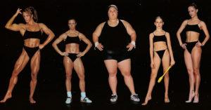 Tipos de cuerpo que adquiere el ser humano según el deporte que practica