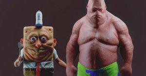 Crean versión realista de Bob Esponja y sus amigos… Es tan aterradora que cancelarás tus cuentas