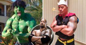Personajes que ha interpretado La Roca, ¡el #9 te hará dudar de su masculinidad!
