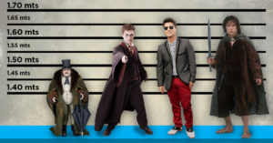11 Famosos actores que miden menos de 1.65 mts