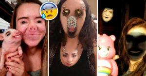 Los 15 face swap más terroríficos en la historia de Snapchat