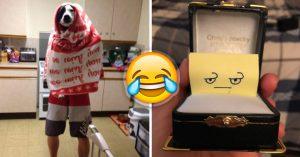 20 Esposos ocurrentes con los que te casarías sin pensarlo
