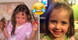 Niños que tomaron la decisión más grande de su vida: cortarse solos el cabello