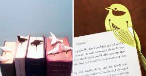 15 Preciosos separadores que enamorarán a cualquier fanático de la lectura