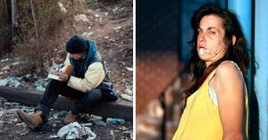 20 Impactantes fotografías de la vida cotidiana de un adicto en Philadelphia