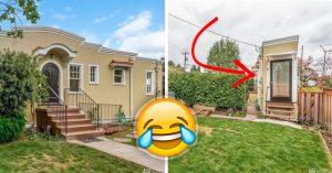 Mujer construyó una casa de 4 metros de ancho para vengarse de su exmarido