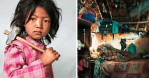 15 Fascinantes fotografiás que nos muestran como duermen los niños en otros países