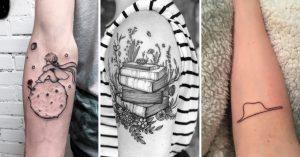 15 Tatuajes que los amantes literarios desearán tener
