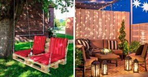 Cover Ideas de estancia para acondicionar el jardín de tus sueños