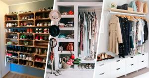 20 formas de acomodar tus prendas para tener el closet ideal