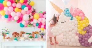 26 Decoraciones con globos que te van a fascinar; ¡son el toque perfecto de diversión!