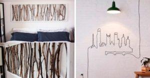 23 DIY fáciles y originales para decorar tu hogar