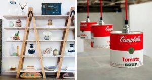 11 Muebles originales que puedes hacer con materiales reciclados