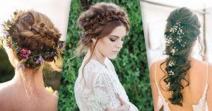 20 peinados con estilo para novias modernas; ¡te encantarán!