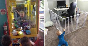 15 Travesuras infantiles que hicieron llorar y después reír a sus padres
