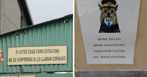 15 Carteles graciosos que solo pudieron haberse hecho en Latinoamérica