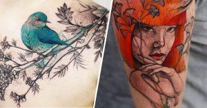 17 Tatuajes asombrosos para convertir tu cuerpo en un lienzo vivo