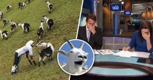 No pudieron contener la risa y SE BURLARON del hombre cabra EN VIVO
