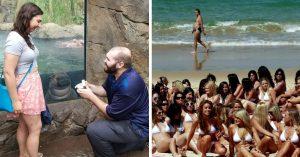 25 Fotos divertidas en donde el fondo es lo más gracioso