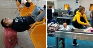 15 Situaciones extrañas que solo pueden ocurrir en los aeropuertos