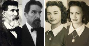 Recrearon las fotos de sus abuelos y el resultado es sorprendente