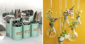 15 Manualidades sencillas de hacer para decorar todos los rincones
