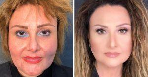 Artista de maquillaje rejuvenece cientos de mujeres gracias a su talento