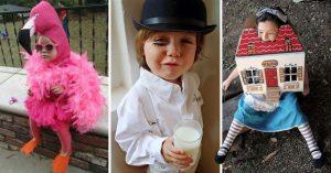 20 Disfraces de Halloween para los más pequeños de la familia