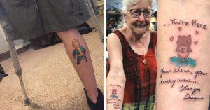 20 Tatuajes que esconden historias realmente conmovedoras