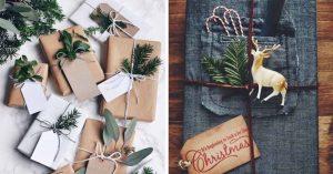 15 Maneras perfectas de envolver regalos navideños para hombres