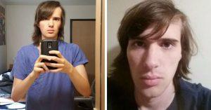Chico documenta su transformación a mujer con fotografías y es INCREÍBLE