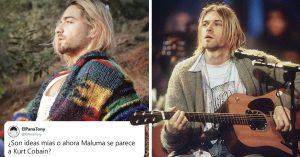 Maluma sorprende con cambio de look y hasta lo comparan con Kurt Cobain
