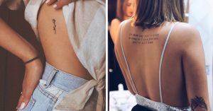 11 Tatuajes delicados perfectos para chicas coquetas