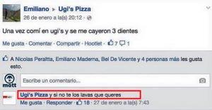 UGI'S Pizza: La pizzería que TROLEA a sus clientes de manera ÉPICA en Facebook
