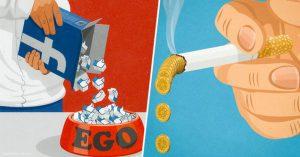 30 Ilustraciones satíricas de los problemas del siglo 21