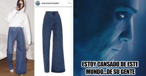 Llegaron los jeans asimétricos y van a costar $375 dólares