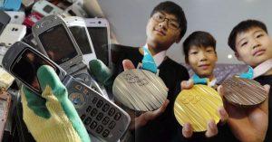 Las medallas de los Juegos Olímpicos de Tokio 2020 serán fabricadas con basura