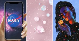 COVER Wallpapers para celular de galaxias